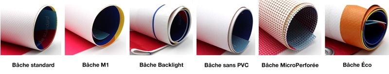 exemples types bache