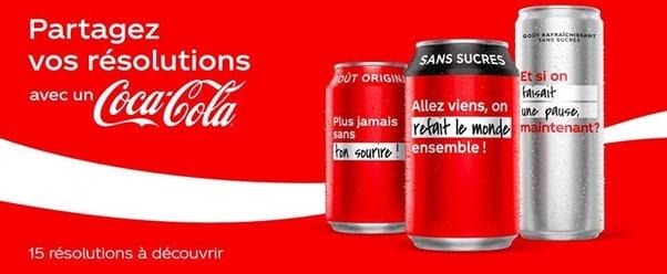 nouvelle canette de coca cola