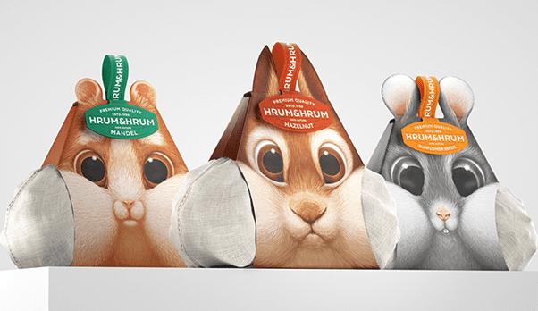 packaging hrum&hrum