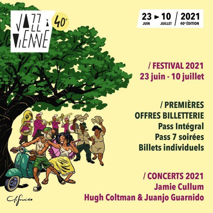 Jazz à Vienne, affiche 2021