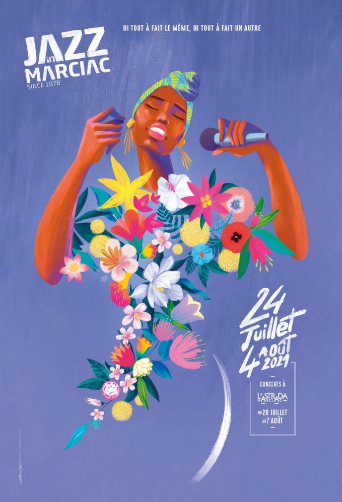 Jazz Marciac, affiche 2021