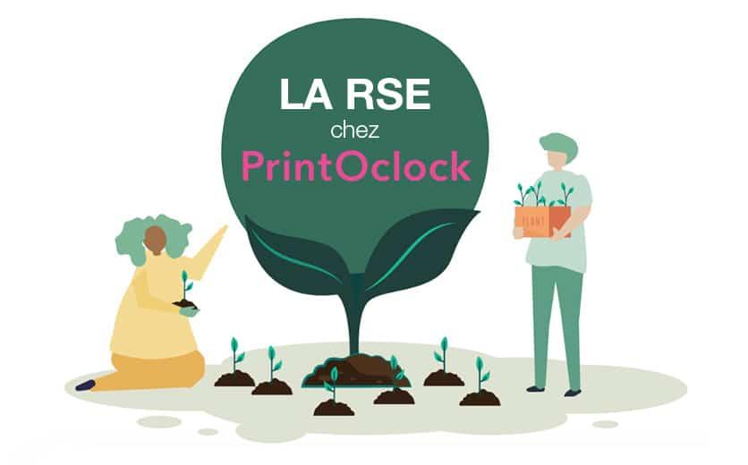 Article sur Printoclock et la RSE