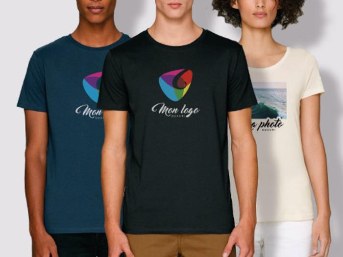 T-shirt homme ou femme personnalisé