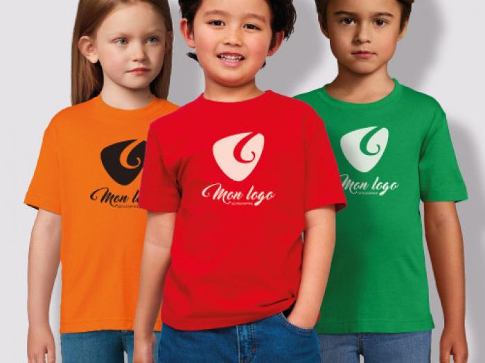 t-shirt enfant sérigraphie