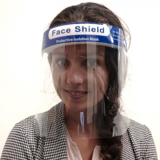 visière de protection médicale