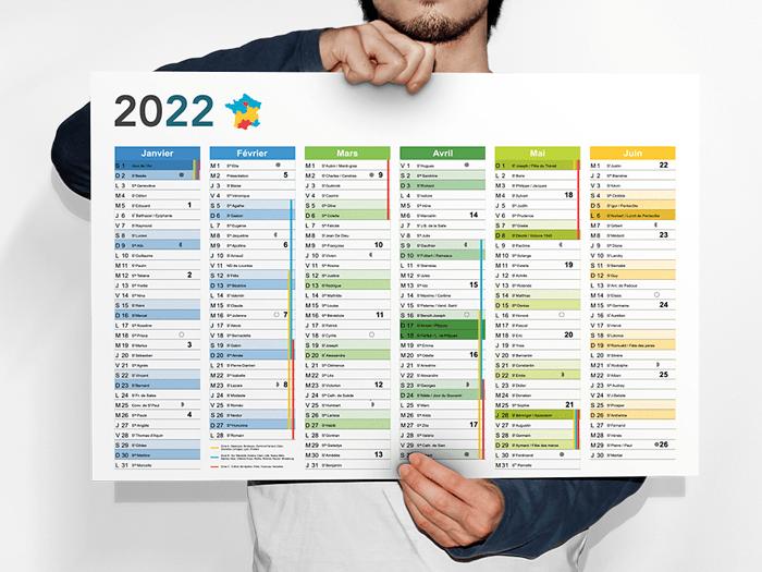 calendrier personnalisé