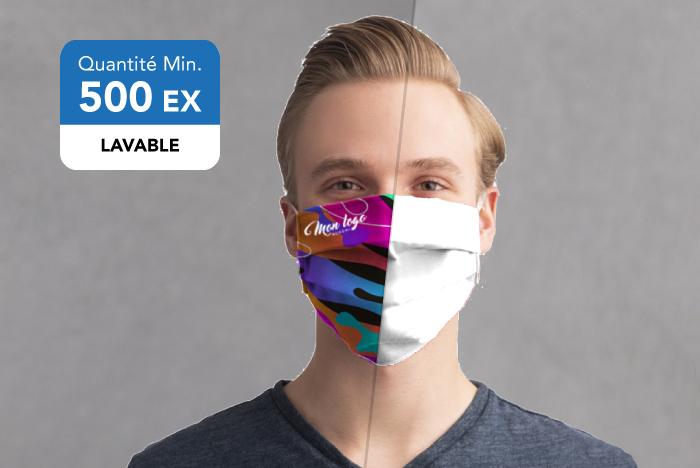 Masque tissu all over