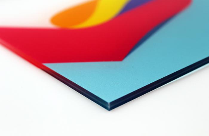plaque plastique transparent