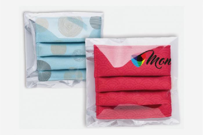 Masque tissu entièrement personnalisable