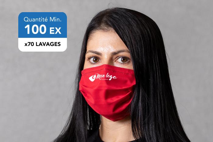 Masque personnalisé polyester