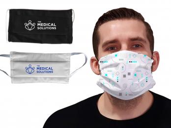 Masque personnalisé en tissu