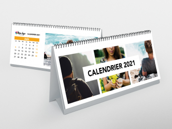 calendrier chevalet