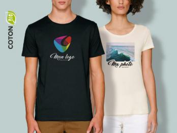 Tee-shirt Bio personnalisé