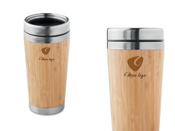 mug isotherme bambou