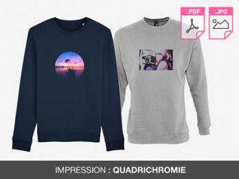 magasins populaires Prix de gros 2019 style actuel Impression sweat en sérigraphie - Imprimer sweat shirt pas cher