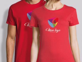 tee shirt personnalisé femme