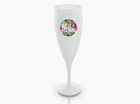 Coupe de champagne personnalisée quadrichromie