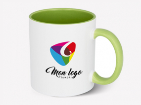 mug personnalisé couleur