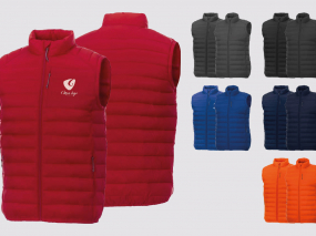 body warmer personnalisable
