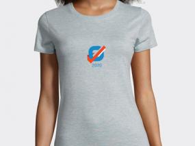 T-shirt femme élections personnalisé