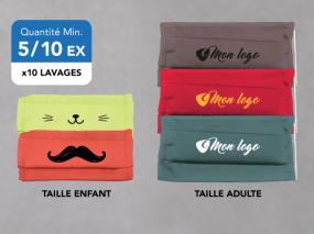 Masque couleur personnalisable