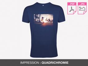 t-shirt publicitaire homme