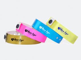 bracelet publicitaire vinyle