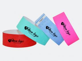 bracelet personnalisé tyvek