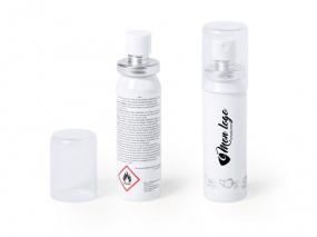 Spray désinfectant personnalisable