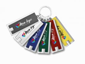 Porte-clés lumineux personnalisé