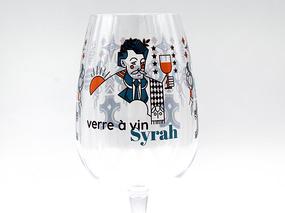 Verre à vin Syrah personnalisé en Tritan Quadrichromie