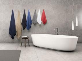 serviettes de toilette personnalisées logo