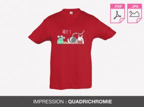 nouveau style 802f1 fcafa Imprimer T-shirt Enfant Economique : impression tshirt ...
