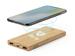 batterie externe sans fil bambou