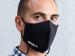 Masque 2 couches en coton avec lanière