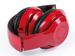 casque bluetooth personnalisé pliable rouge