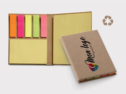 Bloc-notes personnalisé recyclo